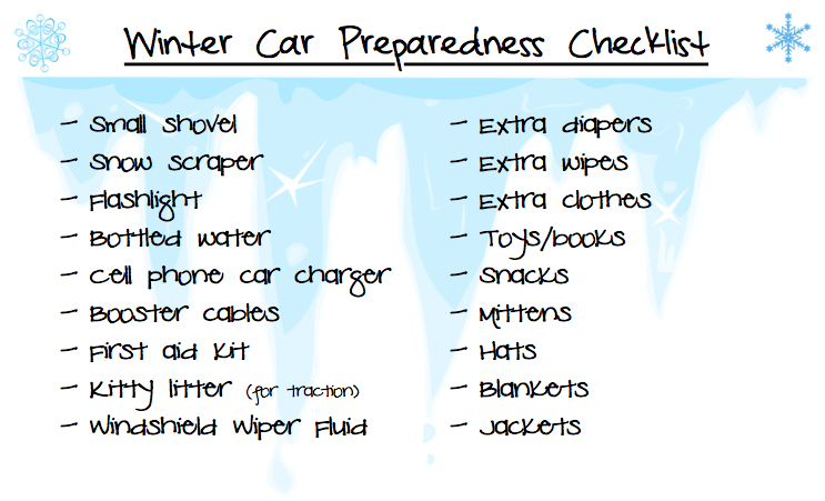 getting your car prepared for winter