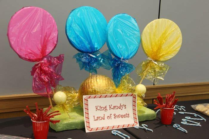 Candy Land Party - Dessert Table