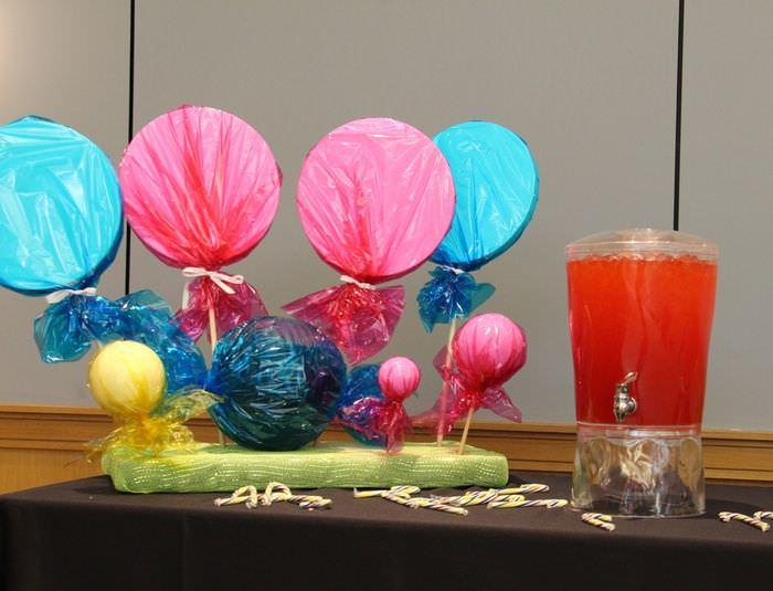 Candy Land Party - Drink Table