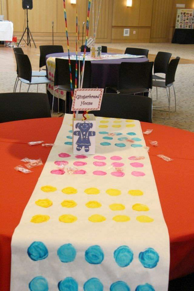 Candy Land Party - Table Runner