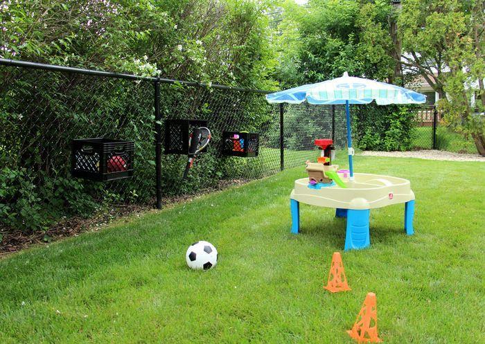Backyard Toy Storage Solution