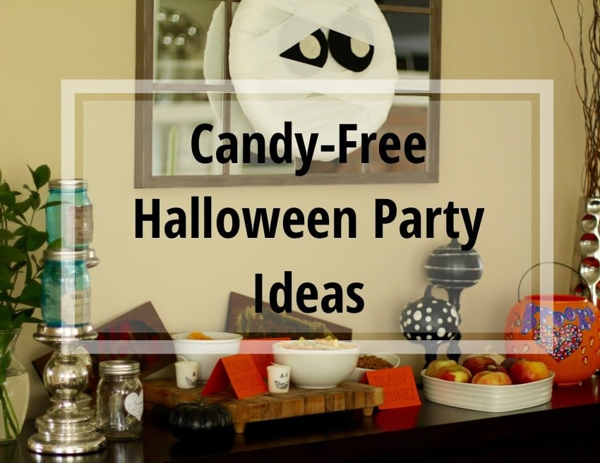 candy free halloween party ideas