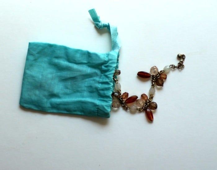 Bracelet Bag And Earring Box