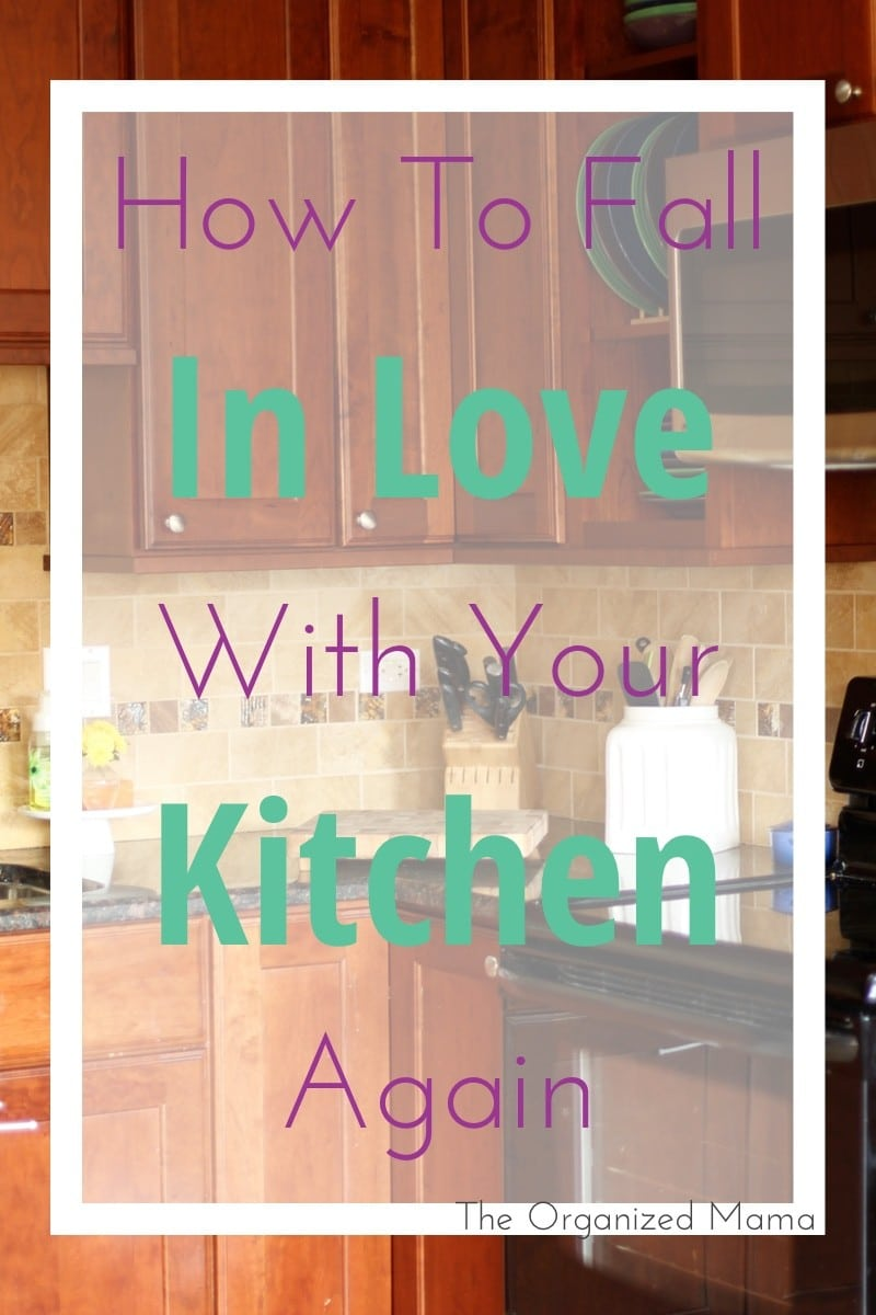 How To Fall In Love With Kitchen Again