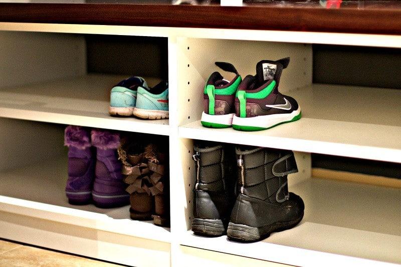 Declutter Kids Shoes