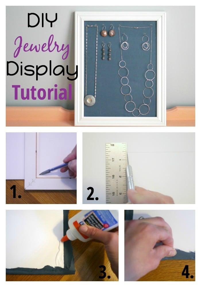 DIY Jewelry Display Tutorial