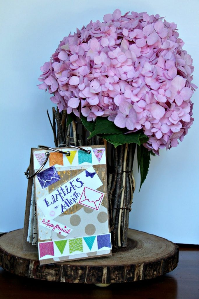 Book and Flowers