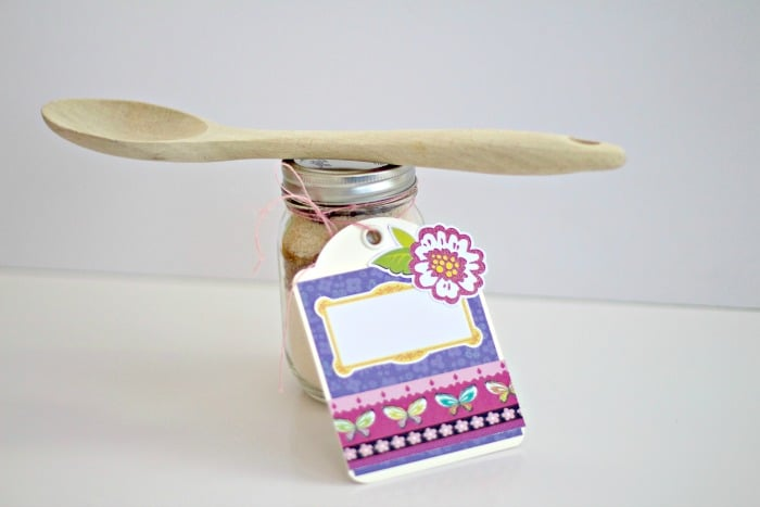 Cookie In A Jar Gift Tag Hostess Gift