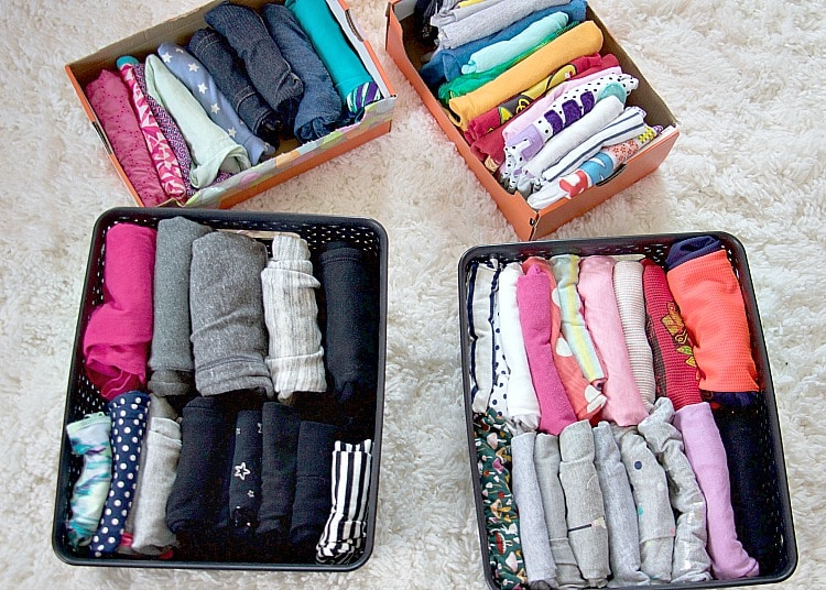 Sorting Clothes Kids Organizing kids clothes drawers boys dresser