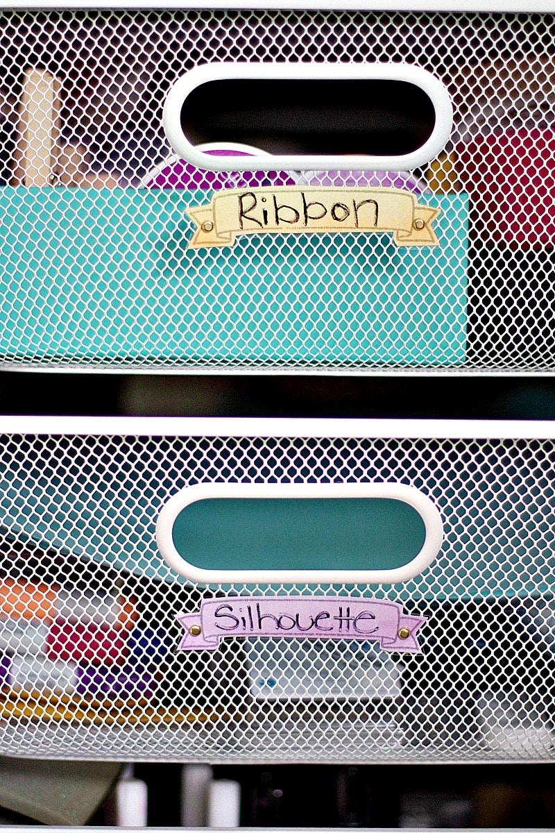 DIY decorative labels