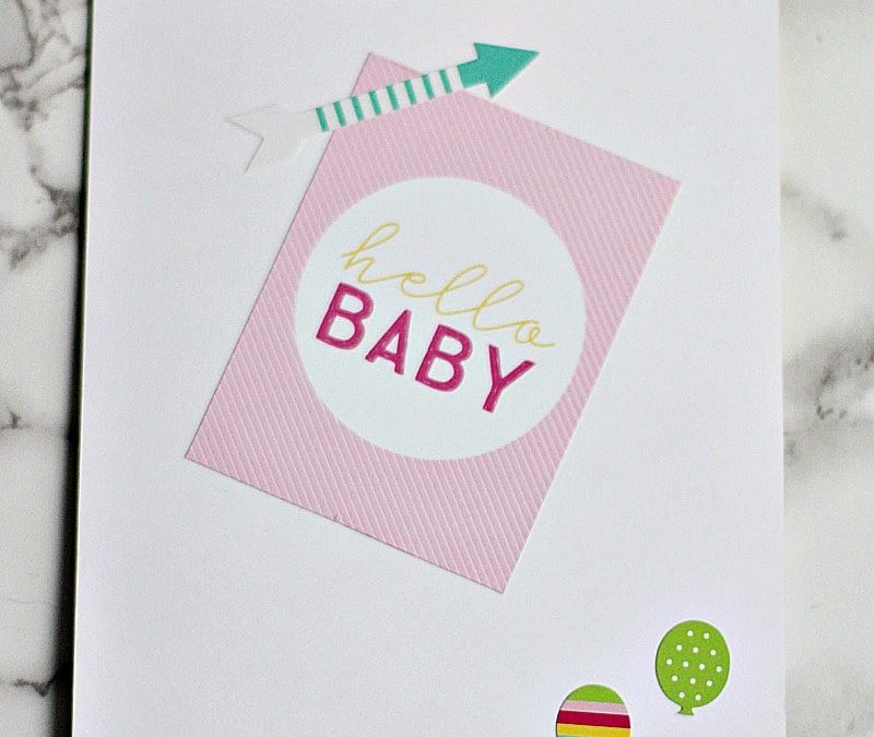 How To Make An Easy Baby Memory Book