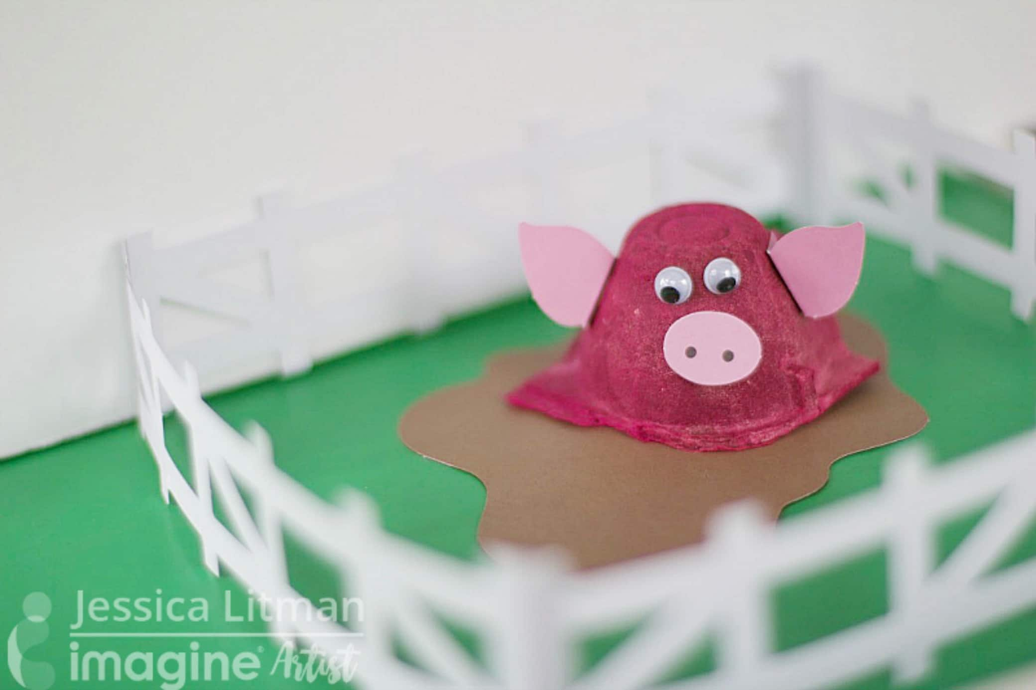 egg carton kid craft