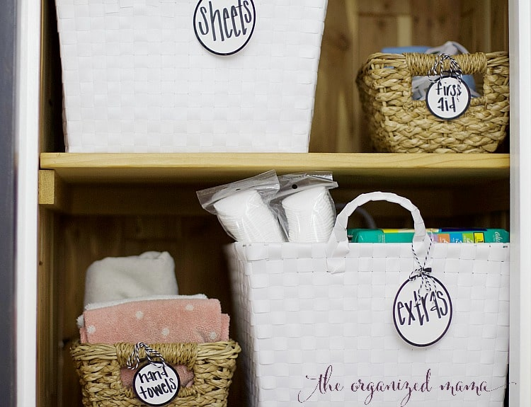 How To Organize Linen Cabinets