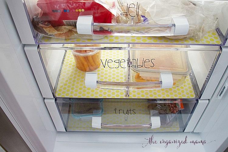 fridge organization fridge drawers organized with labels