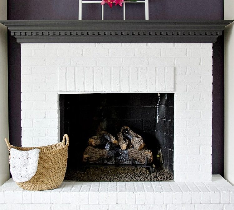 The Best Way To Create White Brick Fireplaces