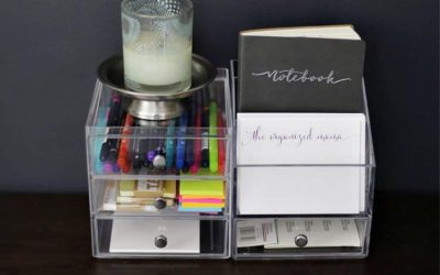 6 Quick And Easy Desk Organization Ideas From A Professional