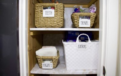 7 Effective Tricks The Pros Use When Organizing Linen Closets