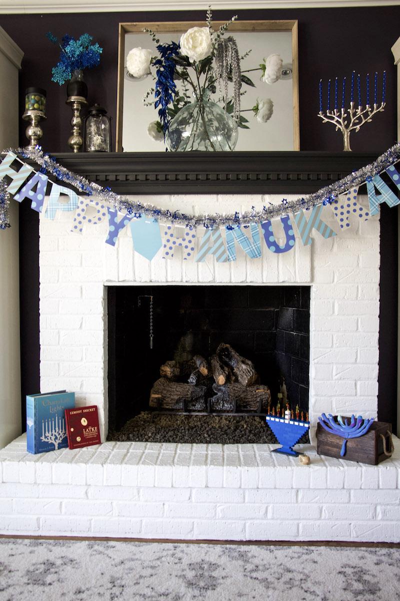 hanukkah decorations mantel
