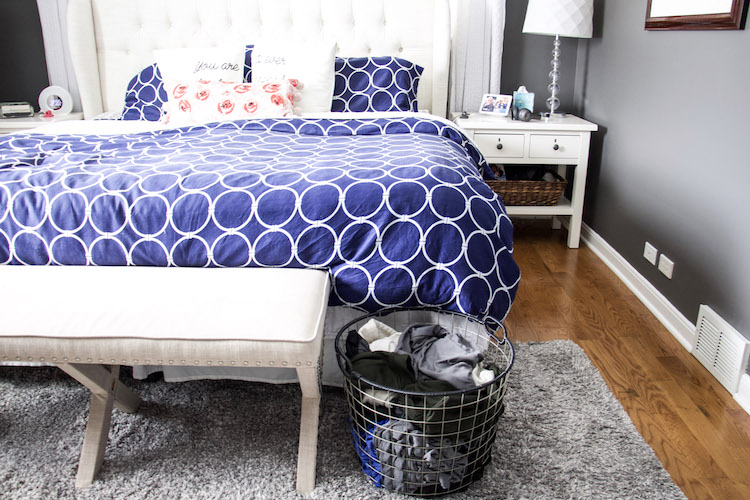 how to live with messy people bedroom clean up