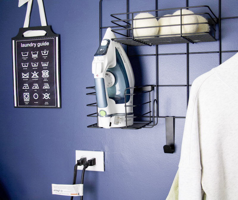 how to utilize wall space in small laundry rooms #laundryroom
