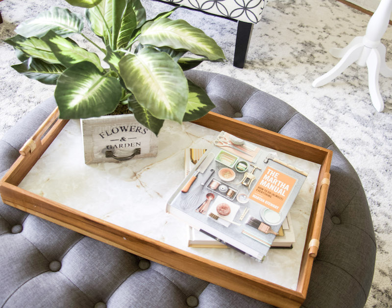 The Cheapest Way To Upcycle Wooden Trays